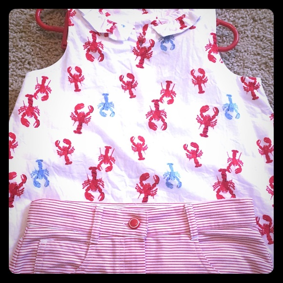 janie and jack lobster outfit poshmark